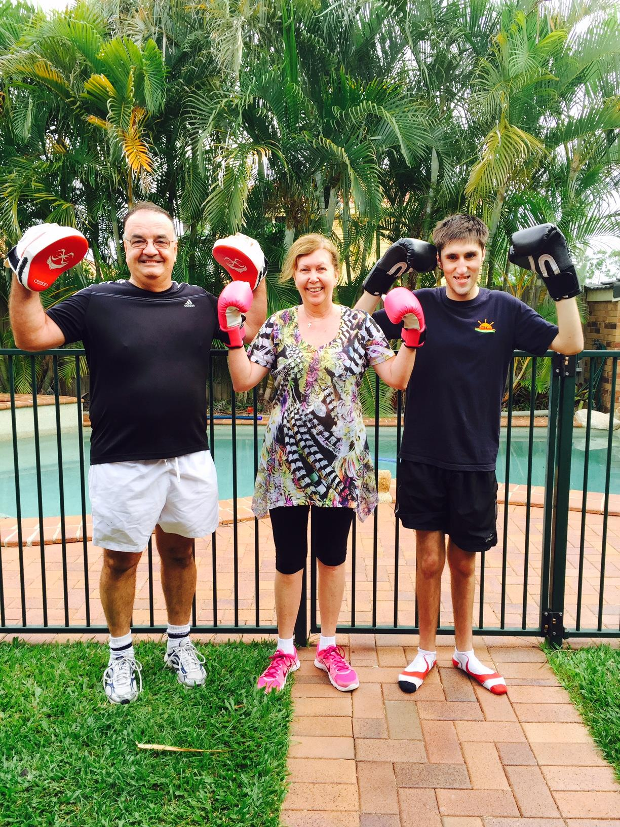 Client of the month family Graham, Karenne, Mitch