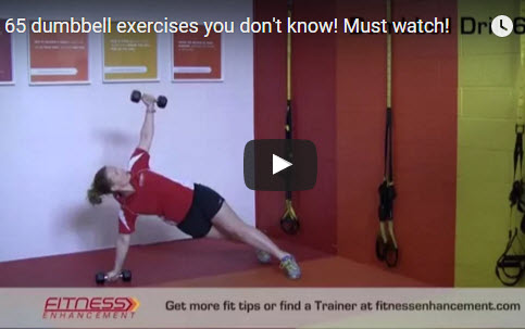 65 Dummbell exercises video65 Dummbell exercises video