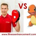 Personal training versus pokemon