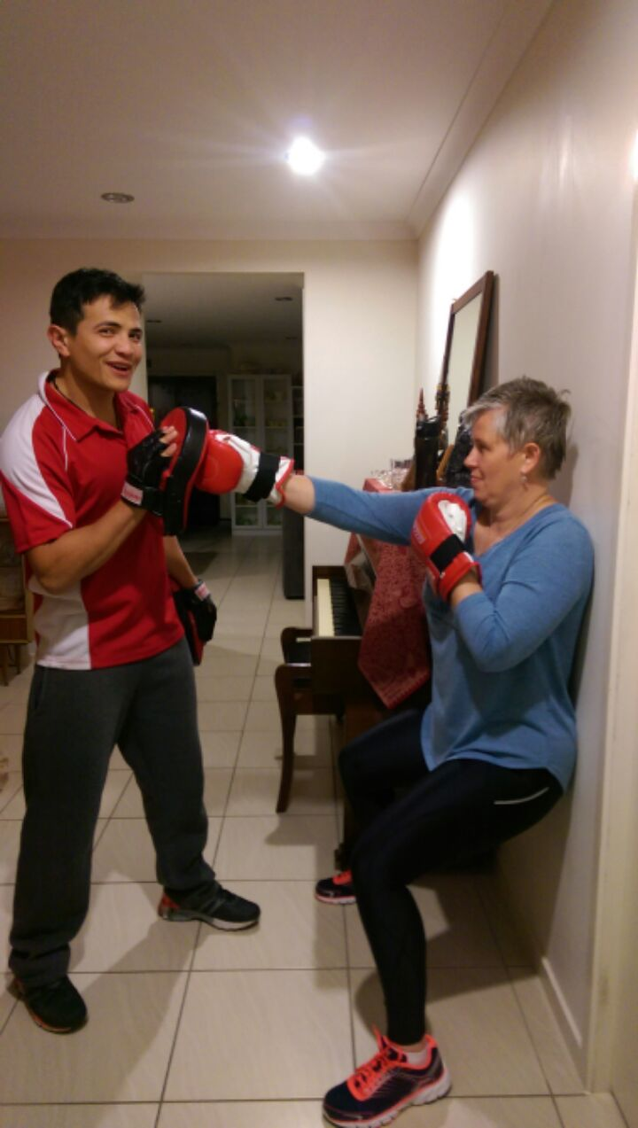 Sandi Olney Personal Training Boxing