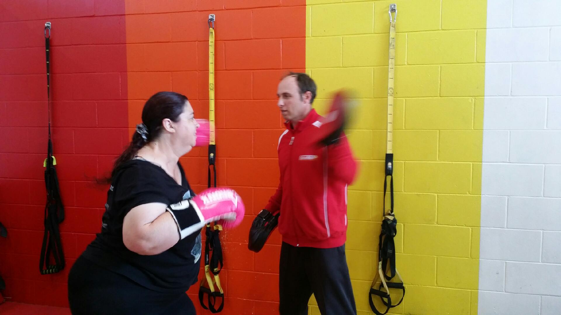 Kimberlee Dempsey boxing personal training